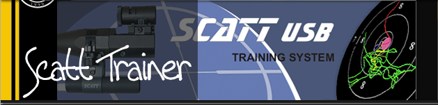 Scatt banner with digital target